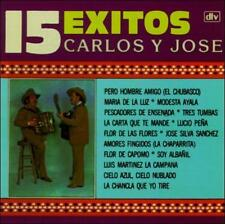 Carlos Y Jose 15 Exitos CD