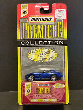 1997 Matchbox Series 14 Premiere Collection 3/6 Viper RT/10 1 of 25,000