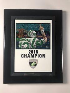 Joe Namath Legends Golf 2018 Champions Plaque 8x10