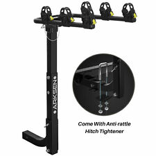 Premium 3-Bike Carrier Rack Hitch Mount Swing Down Bicycle Rack W/ 2