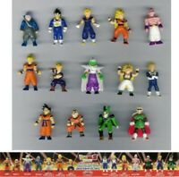 Raro Set 14 Mini Figura Dragon Ball Z Originales Juegos DOLCI PREZIOSI
