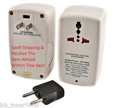 100 Watt International Universal 110/120V to 220/230/240V Voltage Converter