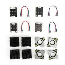 Vibrationsdämpfer für Kühlkörper Set NEMA17 Schrittmotor  3D-Druckerzubehör