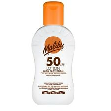 Malibu Sun Lotion Water Resistant UVA UVB Protect Sun Screen 100ml TRAVEL SIZE