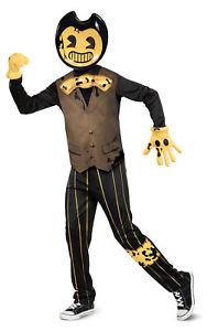 Deluxe Bendy Dark Revival Child Costume NEW