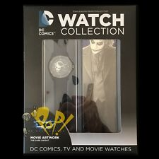 DC Watch Collection #8 HEATH LEDGER JOKER Eaglemoss BATMAN DC Comics!