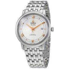 Omega De Ville Prestige Co-Axial Silver Dial Mens Watch 424.10.40.20.02.004