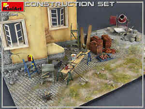 Miniart 35594 Construction Set Accessories for Diorama 1/35 Scale