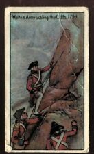 Tobacco Card, Imperial, CANADIAN HISTORY, 1926, Wolfes Army Scaling Cliffs, #32