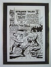 Original Production Art STRANGE TALES #159 cover, JIM STERANKO art
