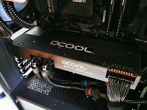 Watercooled Radeon Vega 64, 8GB HBM2 (with Alphacool Eiswolf 240 GPX Pro AiO)