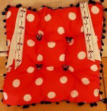Polka Dot Mickey Disney Chair Cushion Seat Pad / Pillow Kitchen Office Patio
