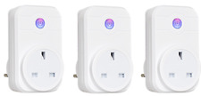 Uk Plug Smart Socket Wifi Wireless Switch Control Outlet Timer Alexa IOS Android