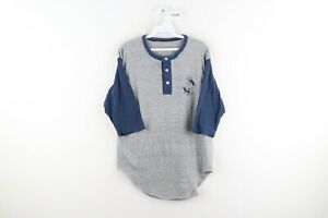 Vtg 70s Mens Medium Indiana Trial Lawyers Association 3/4 Sleeve Raglan Shirt