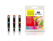Jet Tec Canon CLI-551 XL Cyan / Magenta / Yellow Multipack Ink Cartridges