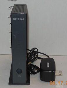 Black Netgear WNR2000 v3 N300 4-Port 10/100 Wireless N Router wnr2000v3