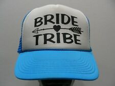 fe13e6a932a BRIDE TRIBE - ONE SIZE TRUCKER STYLE ADJUSTABLE SNAPBACK BALL CAP HAT!