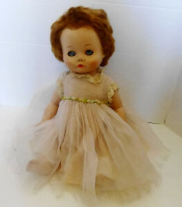 Vintage 17 Inch Madame Alexander Drink Wet Baby Doll