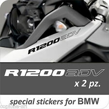 2 Adesivi Serbatoio Moto BMW R 1200 gs ADV adventure LC otuline