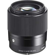 Sigma 30mm f/1.4 Dc Dn Contemporary Lens for Sony E *Brand New*