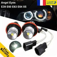 Oeil d'ange 10W Halo LED lumière DRL lampe ampoule pour BMW E39 E60 E61 E63 E64