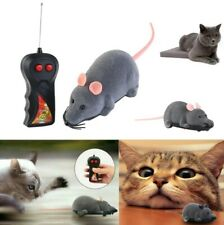 New RC Funny Wireless Electronic Remote Control Mouse Rat Pet Toy For Cats Dogs