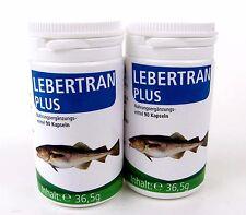Lebertran plus Kapeln 180 Kapseln mit 270 mg Lebertran Vitamin D, EPA, DHA