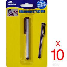 10x Pantalla táctil capacitiva Stylus Pen Universal Móvil Smartphone Tablet Iphone