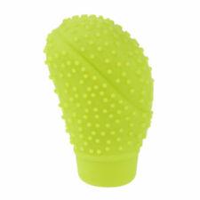 Green Soft Silicone Nonslip Car Shift Knob Gear Stick Cover for Nissan Mazda