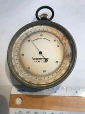 Vintage Taylor Instrument Co. Rochester N.Y Barometer, Compensated Temperature