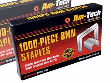 6mm Staples 1000pc High Quality Heavy Duty Staple Gun Tackers -amtech-uk