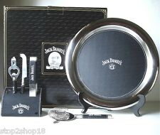 "Jack Daniel's 6 Piece BAR TOOL SET Old No.7 Brand Includes 12"" Tray & Caddy New"