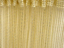 STRING CURTAINS  PATIO DOOR FLY SCREEN ROOM DIVIDER DOOR WINDOW FRINGE CURTAINS