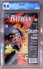 Batman #428 CGC 9.4 A Death in the Family part 3, Death of Robin, Jason Todd