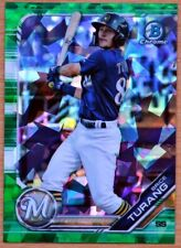 2019 Bowman Draft Sapphire Brice Turang Green 40/50 - Milwaukee Brewers