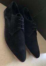 NIB $750 Bottega Veneta Mens Suede Shoes Black 10 US ( 43 Eu ) Italy