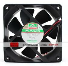 For Protechnic MGA12012YB-O38 Cooling fan 12038 12V 0.8A 9.6W 2pin