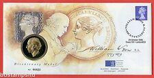 1995 RMC6 William Wyon Birth Bicentenary Medal Cover. SG Y1725