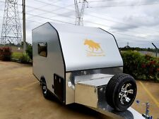 TAURUS ALUMINIUM CARAVAN TRAILER  -  FINANCE AVAILABLE