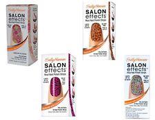 (LOT OF 4) Sally Hansen Salon Effects Real Nail Polish Strips