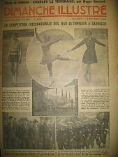 N° 676 REPORTAGES PHOTOS HISTOIRE ROMAN BD BICOT M. POCHE DIMANCHE ILLUSTRE 1936