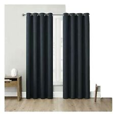"NEW Eclipse Absolute Zero 95"" Blackout Curtains 2-pack Kimball Dusk"