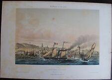 ASSELINEAU, Léon-Auguste (1808-1889):  BOULOGNE SUR MER.1864