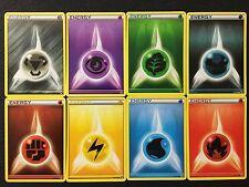 Pokemon Tcg: Bw Base Set - All Energy Cards 105-106-107-108-109-110-1 11-112/114
