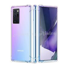 Shockproof Case For Samsung Galaxy Note 20 Plus Ultra Clear Bumper Gel TPU Cover