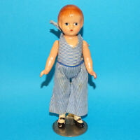 Original Old Effanbee Composition Doll Wee Patsy 5.5 Inch in Original Clothing