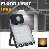 20W PIR Motion Sensor LED Flood Light Waterproof Outdoor Spotlight Security Lamp