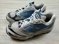 Brooks Dyad Men's Size 8 Running Athletic Cross Fit Shoes Blue White Comfort