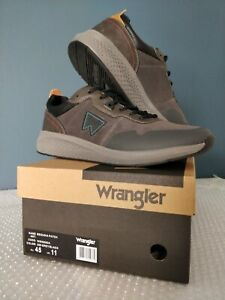 Wrangler Odyssey Canvas Mens Casual Slip On Foam Trainers Shoes Grey 7 8 9 10 11
