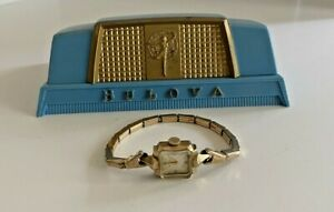 Vintage BULOVA Wind Up Watch in Presentation Box Case
